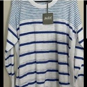 MARLED BY REUNITED Stripe Sweater Size 3